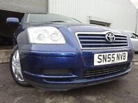 💥55 TOTOTA AVENSIS COLOUR COLLECTION VvTi 1.8,MOT JULY 017,2 OWNERS,2 KEYS,PART HISTORY💥