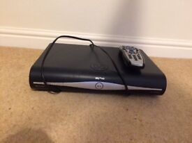Sky HD box and remote control