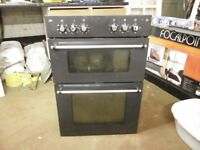 INTERGRATED DOUBLE OVEN AND GRILL