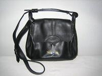 Radley black leather handbag - very good condition