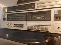 Technics tuner and jvc tape deck both excellent condition