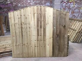 🌟 Excellent Quality Heavy Duty Omega Top Fence Panels