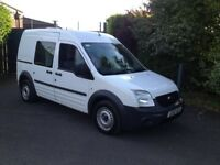 2012 12 reg ford transit connect t230 lwb crew van ex police