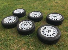 Alfa Romeo Wheels and Bridgestone Tyres. 225 45 17 and 215 45 17 and 205 55 16 and 205 50 16