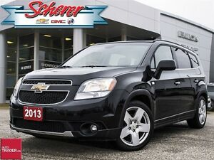 2013 Chevrolet Orlando LTZ WINTER WHEELS ON RIMS