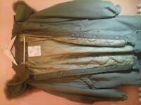 USA fishtail parka coat