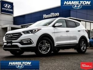 2018 Hyundai Santa Fe Sport | LUXURY PKG | LEATHER | ROOF| ALLOY