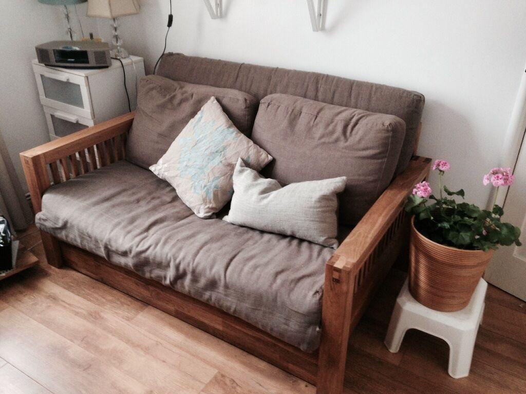 Oke futon sofa bed in hammersmith london gumtree for Sofa bed gumtree london