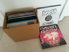 Complete Raver Baby Record Label 1-73 - Vinyl - UK Hardcore/Rave
