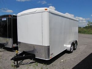 2016 United 7x14 Enclosed Cargo Trailer U714TA358.5