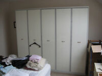 Wardrobe measures H 1.97 W 2.25 D 0.60 Can be dismantled