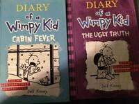 """Diary of a wimpy kid """"Cabin Fever"""" and """"the ugly truth"""""""