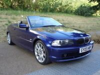 2003 BMW 3 SERIES INDIVIDUAL CONVERTIBLE, M SPORT WHEELS,AUTOMATIC PETROL,PER...