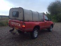 4x4 pickup wanted (l200, b2500, ranger, navara, hilux etc) diesel 4wd landcruiser
