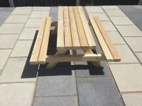 Children's Garden Picnic Benches for Sale 4ft/Various sizes