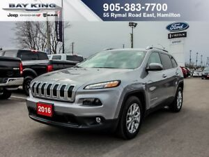 2016 Jeep Cherokee NORTH, REMOTE START, PWR LIFTGATE, BLUETOOTH