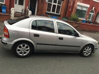Silver Vauxhall Astra 1.6 Very cheap car