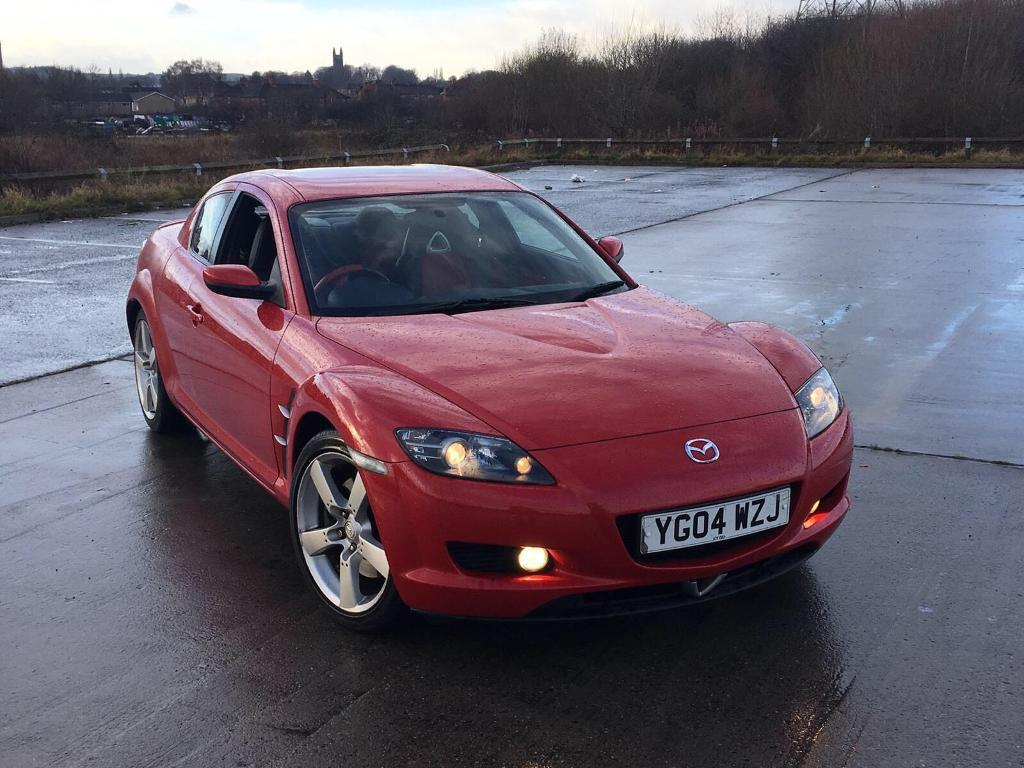 2004 mazda rx8 rx 8 2 6 192ps red leathers fsh low mileage good runner not celica in dewsbury. Black Bedroom Furniture Sets. Home Design Ideas
