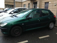 PEUGEOT 206 1.4 HDi FULL MoT LOW MILES EXCELLENT CONDITION