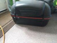 Motor bike back box