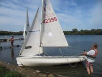 420 2man sailing dinghy