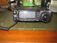 Yaesu FT 100 HF VHF UHF Transceiver A Complete Amateur Radio Station In A Single Box