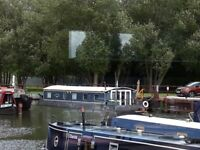 50 x 10ft houseboat with potential live aboard mooring