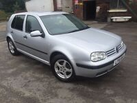 VW Golf 1.4- - 5 Door -Warranted Low miles - HPI Clear - Electric Sun Roof