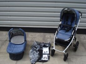 UPPAbaby Vista 2012 Cot & Pushchair system in Cole (slate) - used, good condition
