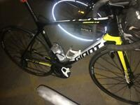 Giant road bike M/L - will accept. Offers