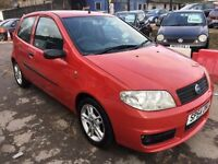 Fiat Punto 1.2 8v Active Sport 3dr£885 p/x to clear FREE WARRANTY. NEW MOT