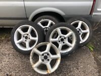 "Ford Mondeo 16 "" Alloy Wheels Si Cosworth Rs Turbo Escort Mk4 gti"
