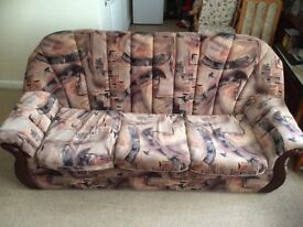 Sofa (3 seater and 1 seater)
