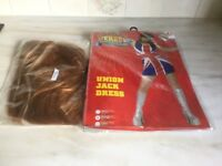 Every Day Heroes Union Jack Dress and Wig