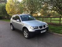 2005 BMW X3 2,0 litre diesel 5dr