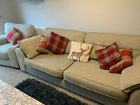 DFS sofa and single seat *PENDING COLLECTION*