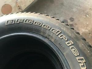 P245/65R17 BF GOODRICH LONGTRAIL T/A SET OF 4 GOOD CONDITION