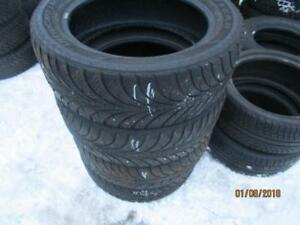 235/55R19 SET OF 4 USED GOODYEAR WINTER TIRES