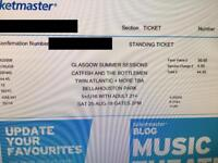 2 x tickets for Catfish and the Bottlemen, Glasgow Saturday 25th August
