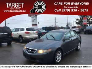 2005 Acura TSX Fully Loaded;Leather,Roof,Drives Great and More!
