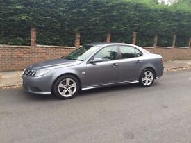 Rare Saab 9-3 1.9 TTiD Special Turbo Edition 4dr 220 bhp Automatic Grey + More