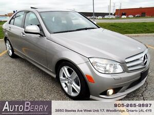 2009 Mercedes-Benz C300 4MATIC **CERTIFIED ACCIDENT FREE**