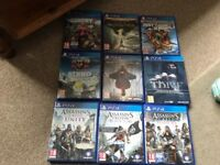 Loads new PS4 games for sale from £8 each to £32 each some still sealed ask for prices see all pict