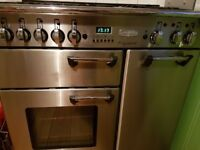Rangemaster professional (gas hob/electric oven) - good working condition, all accessories included
