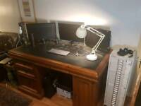 Large Twin Pedestal desk
