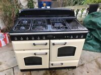 Range master classic all gas cooker with electric hot plate working order