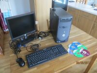 Dell Dimension 4600 Desktop Computer System LAN and Wireless Internet Connections