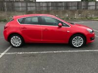 2015 Vauxhall Astra 1.4 VVT 16v Excite 5 Dr Low Mileage 1 Year MOT Leather Interior Cheap Insurance