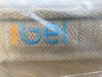 IGEL KING SIZE MATTRESS USED IN GOOD CONDITION
