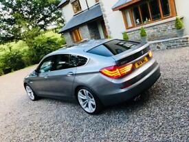 BMW 530 GT EFFICIENT DYNAMICS new mot&service Drl privacy glass, pano roof, dvd & sat nav